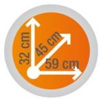 kappa-kofer-za-motor-k53n-velicina